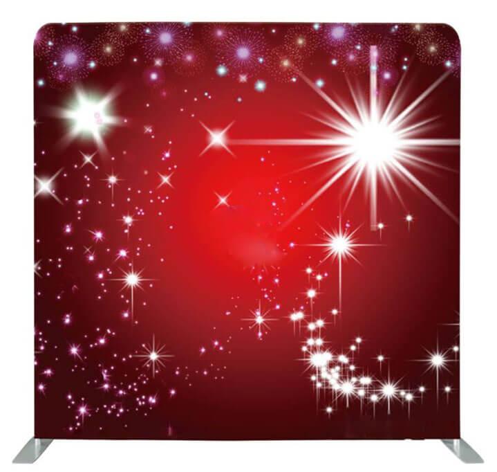 Red Glitter 8x8