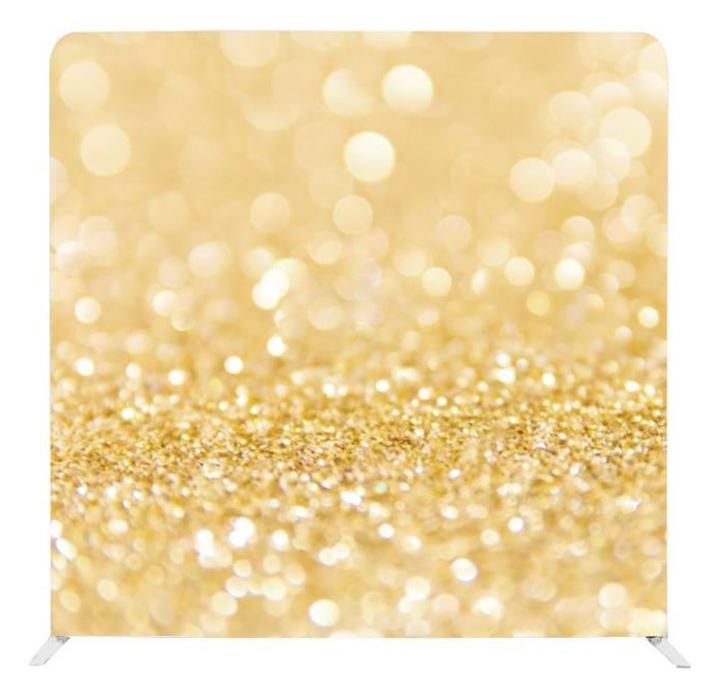Gold Glitter 8x8